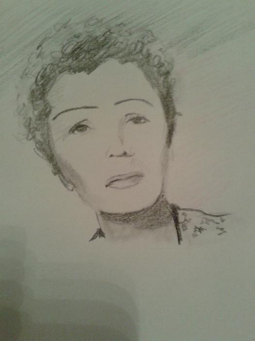 Edith Piaf por perlefr
